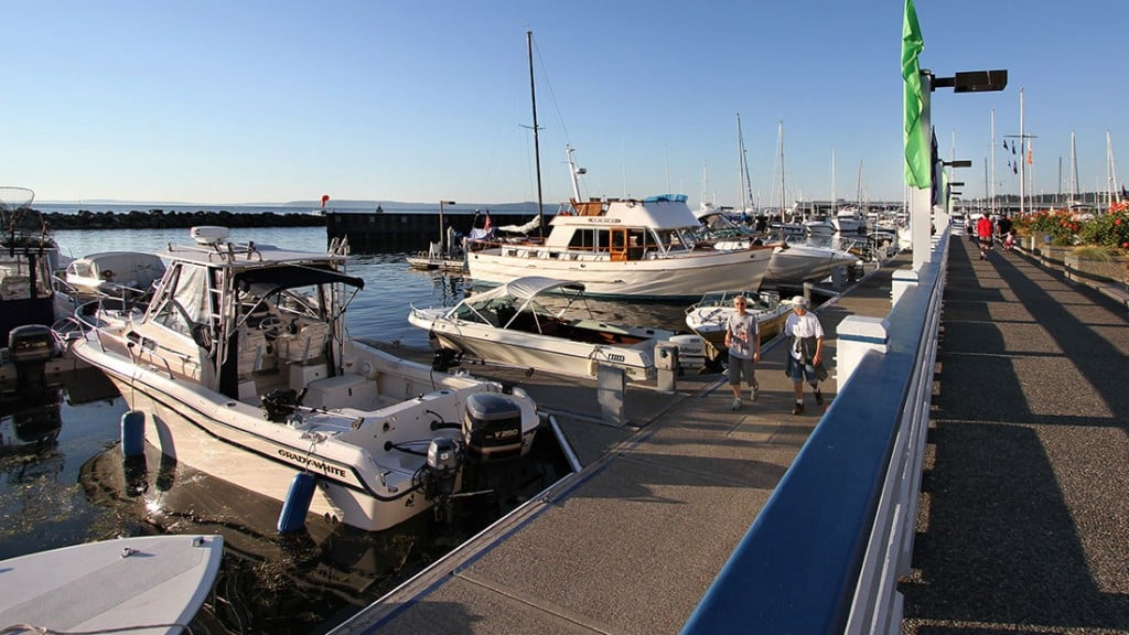 Port of Edmonds Guest Moorage